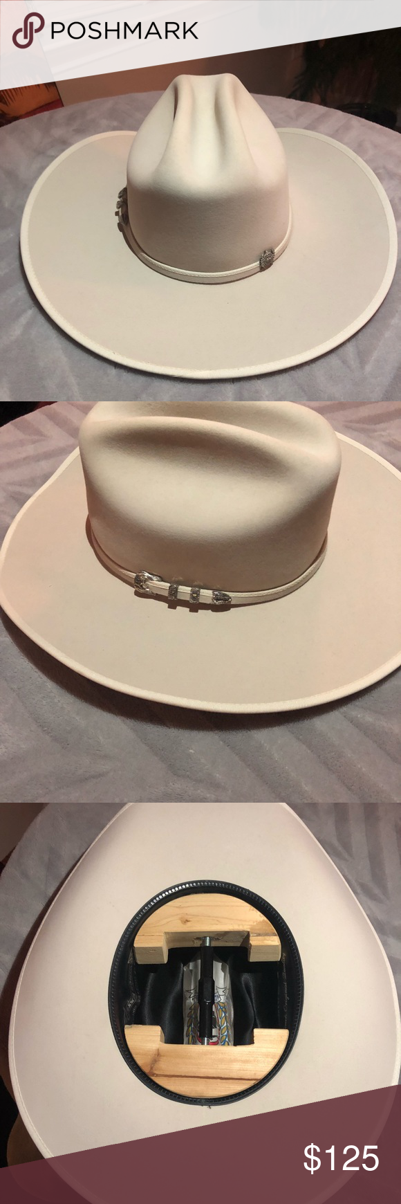 c1a7fd3f8ffd9 Cinch up Felt Cowboy Hat Rare Rare hat to find Brand new Size 7- 1 4 Great  deal on this hat Cinch Accessories Hats