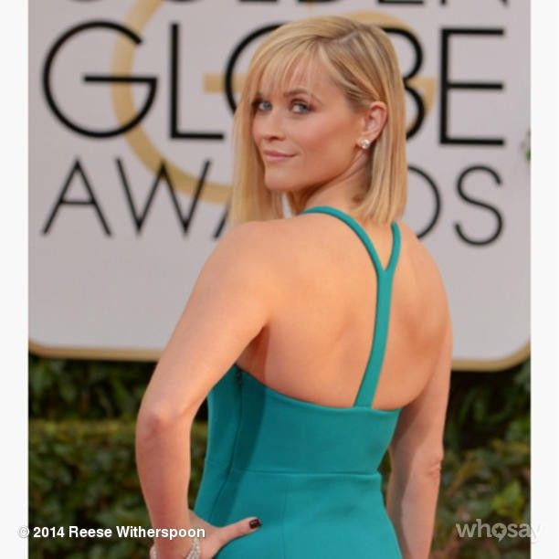  GOLDEN GLOBES   WILD's Reece Witherspoon knocking it out of the park in Calvin Klein on the red carpet