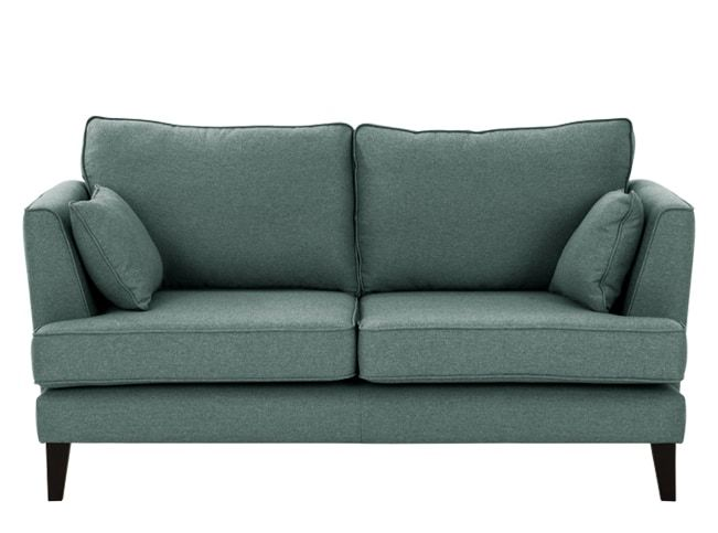 Orlando 2Sitzer Sofa, Tweed in Blaugrün 2 sitzer sofa, Sofa