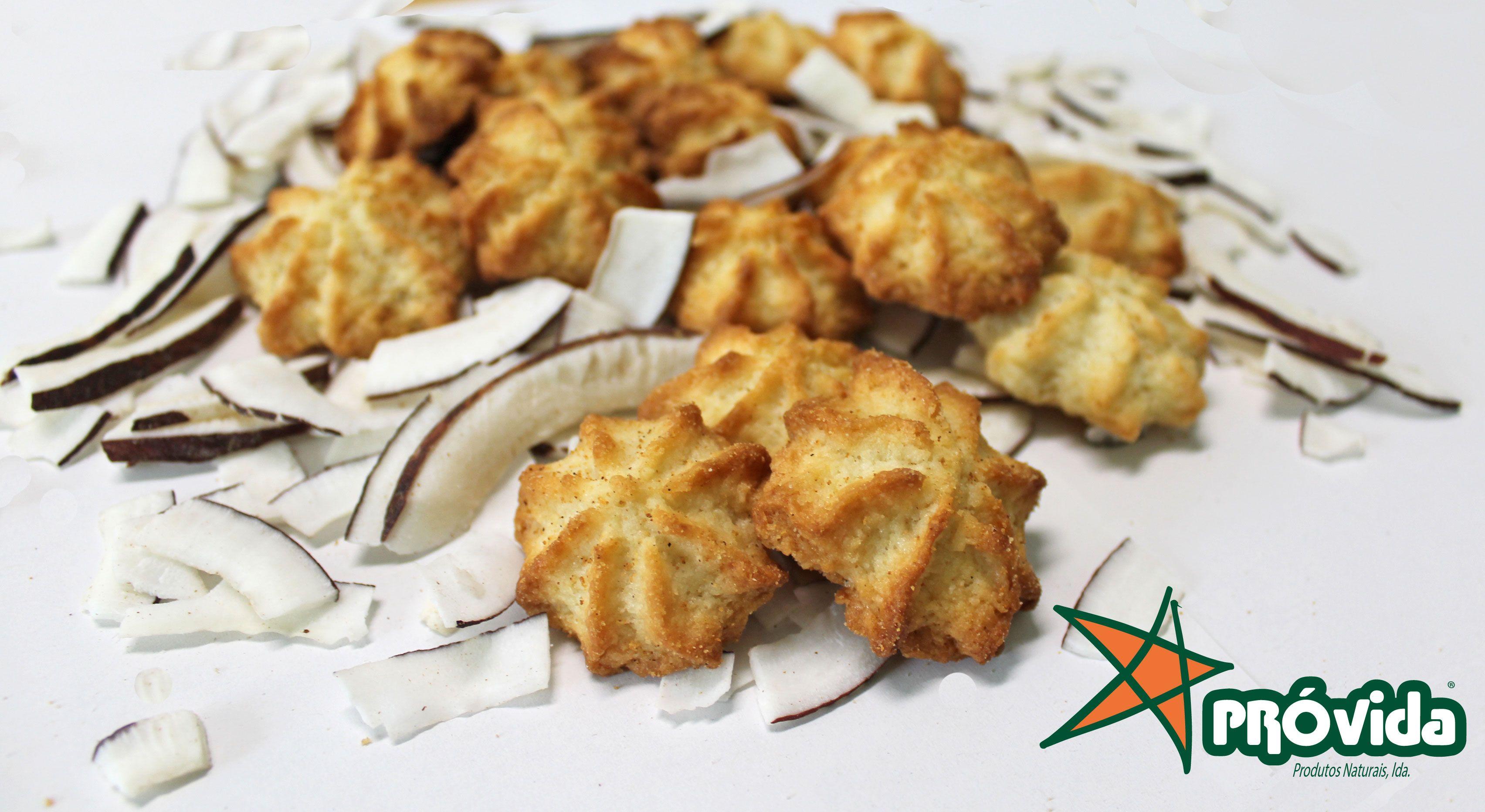 Biscoitos de Coco Saudável & Biológico