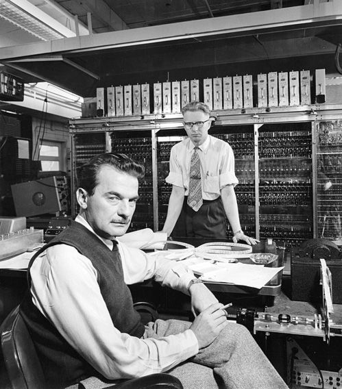 Image result for computer technicians 1950s