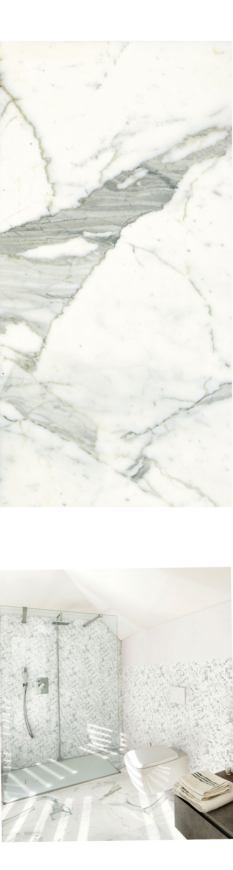 Classic  Statuarietto, The Porcelain Tile That Look Like Marble, But Its  More Durable