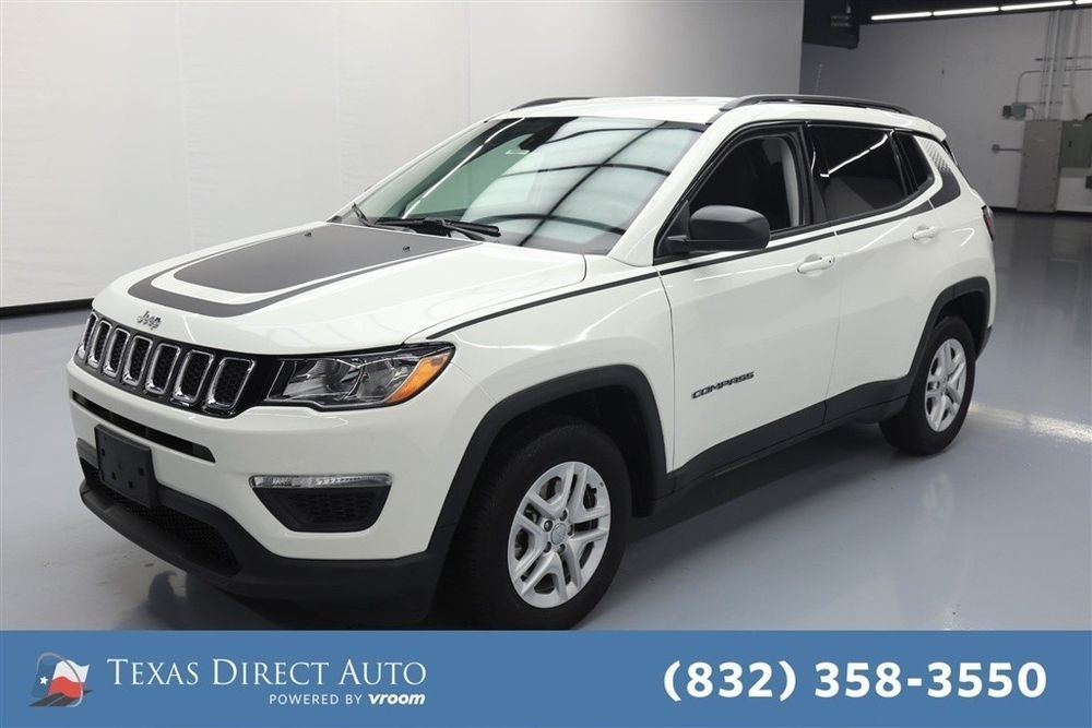 eBay Jeep Compass Sport Texas Direct Auto 2018 Sport Used