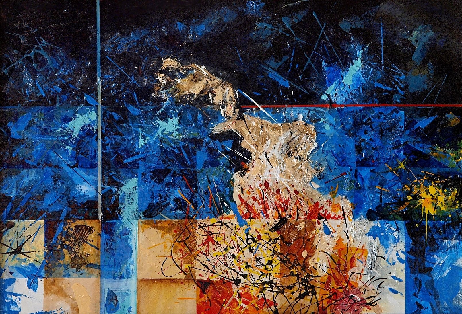 Cancers Ii By Maciej Lasota Painting Acrylic Painting Art
