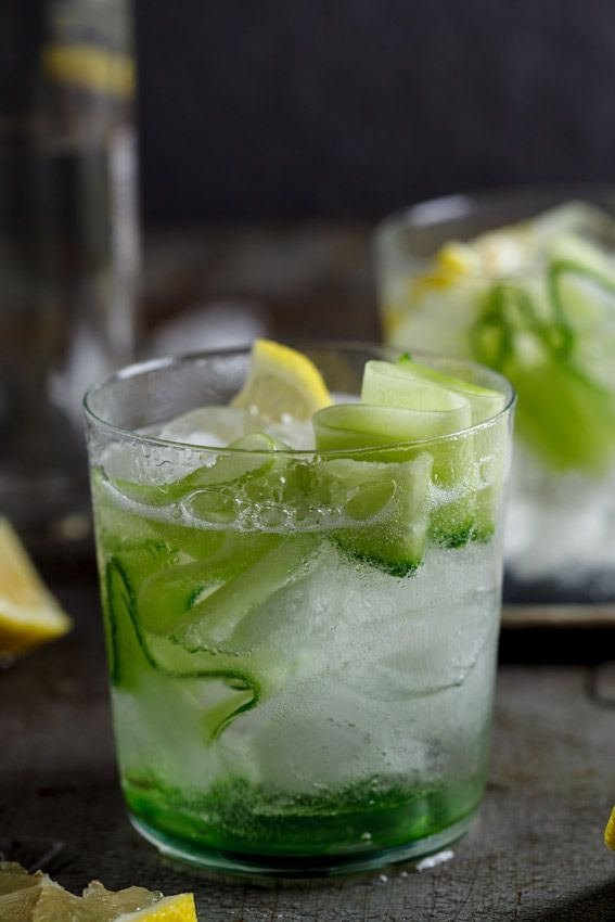 Gin tonic with cucumber simply delicious for Best mixers for gin