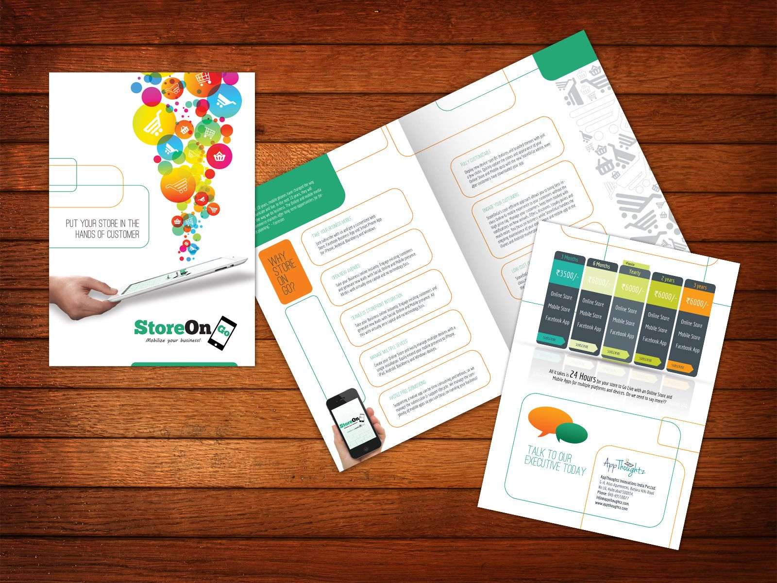 make leaflets online
