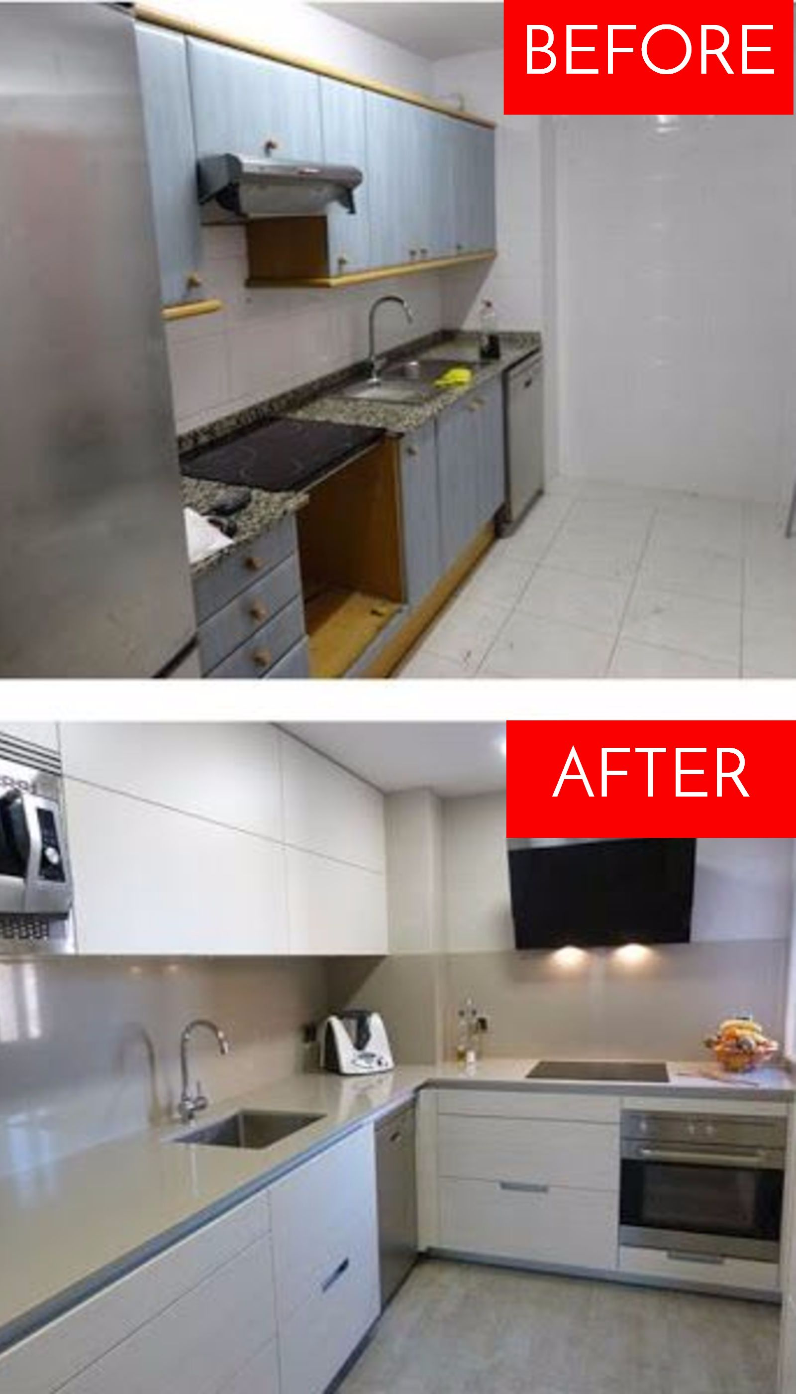 Small Kitchen Ideas On A Budget Before After Remodel Pictures Of Tiny Kitchens Clever Diy Ideas White Kitchen Remodeling Contemporary Kitchen Remodel Kitchen Remodel Cost
