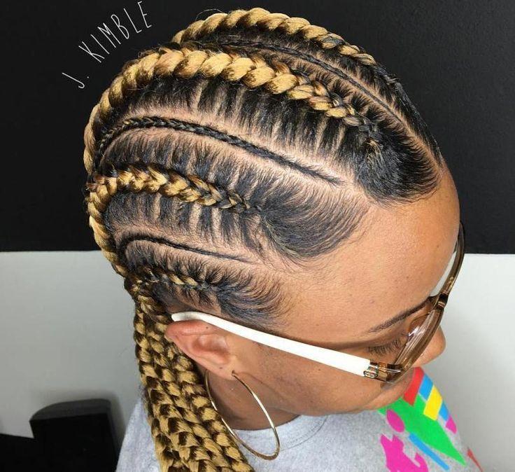 ghana braids updos cornrows