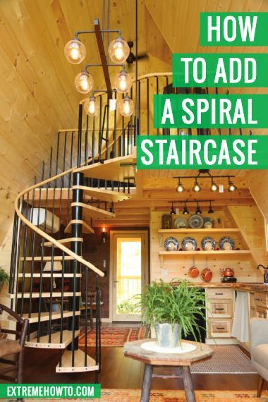 Best Adding A Spiral Staircase Spiral Staircase Diy Stairs 400 x 300