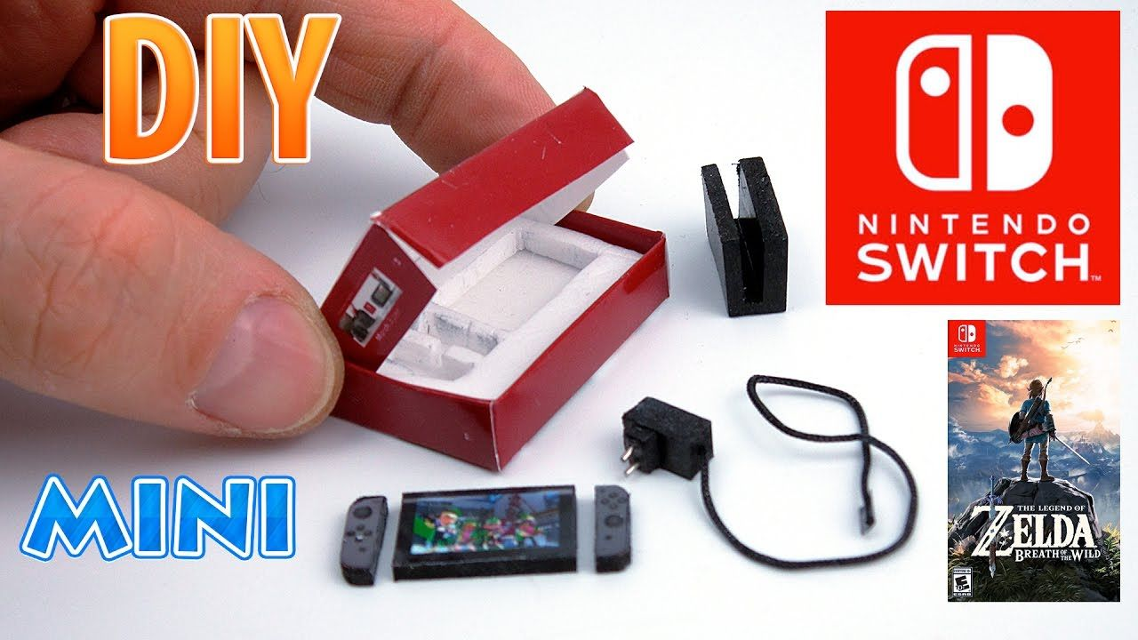 Tutorial Mini Nintendo Switch Gaming Console With Ac