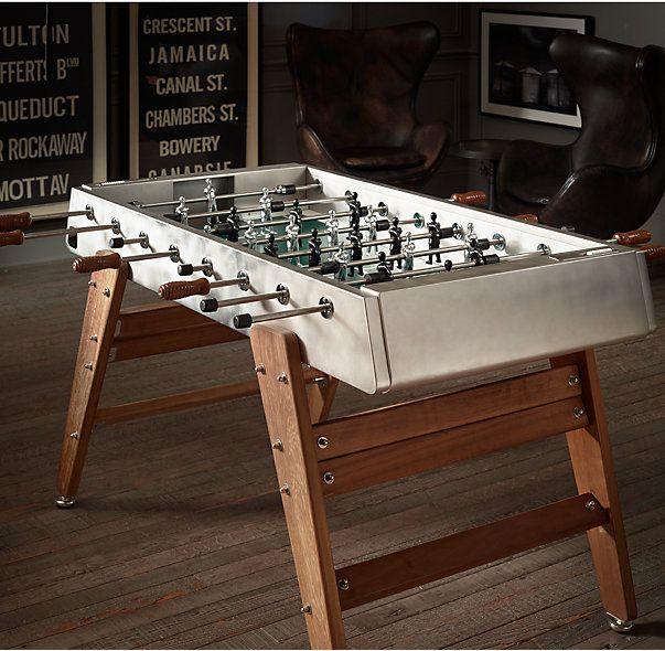 Italian 50 S Foosball Table 1stdibs Com Foosball Table Modern