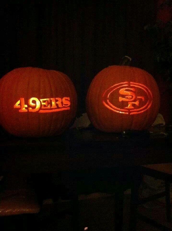 49ers pumpkin template  Pumpkin Carving Ideas   Pumpkin carving, Pumpkin carving ...
