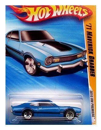 Hot Wheels 2010 033 240 New Models 33 44 71 Maverick Grabber Blue