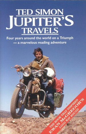 Jupiter S Travels Four Years Around The World On A Triumph Paperback Road Trip Books Road Trip Fun Travel Book