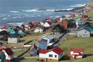 The Faroe Islands between the North Sea and the North Atlantic Ocean... more Scandinavia.