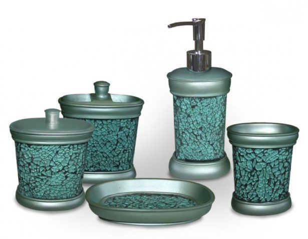 Beau Bathroom:Beautiful Bathroom Accessory Sets Teal Bathroom Accessories Sets