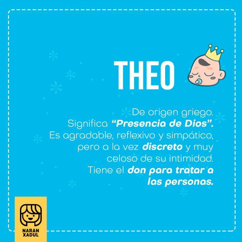 Theo Significado De Theo Nombres Modernos Nombres De Bebes Nombres De Niñas Nombres De Niños Varones