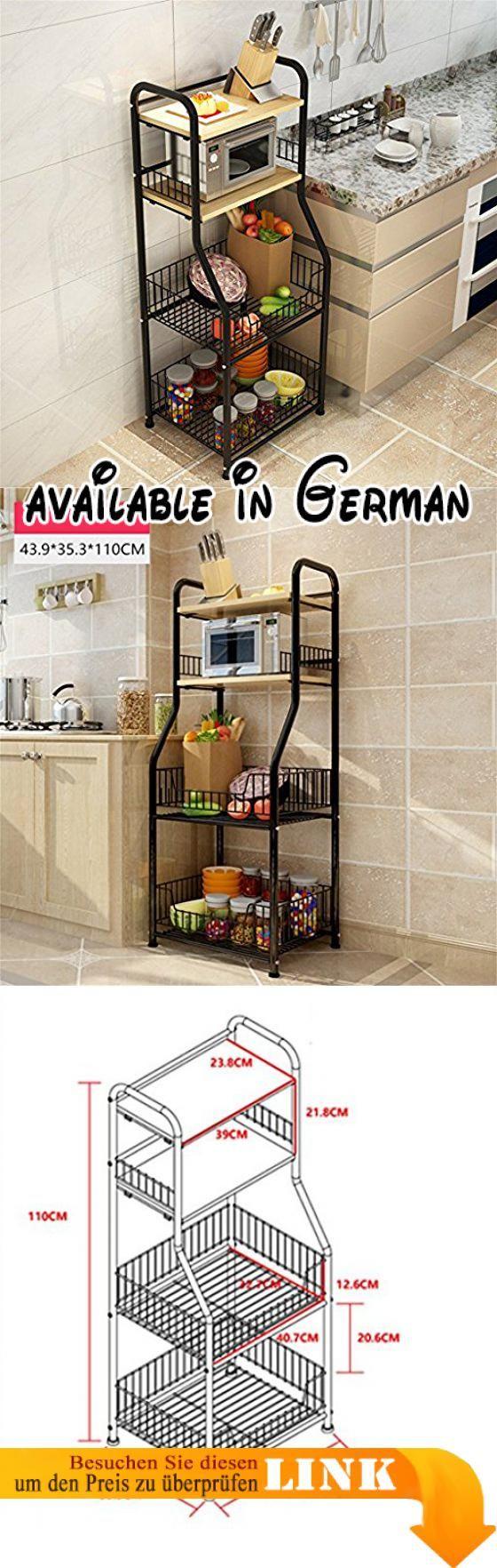 B078WRFYG5 : L&Y Kitchen furniture Küche Regal Landung Mehrere ...