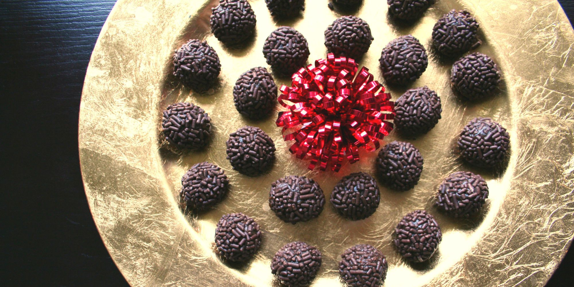 Brigadeiros...delicious Brazilian truffles! Perfect for a little after-dinner treat. #recipe #dessert #NapaValleyHoliday