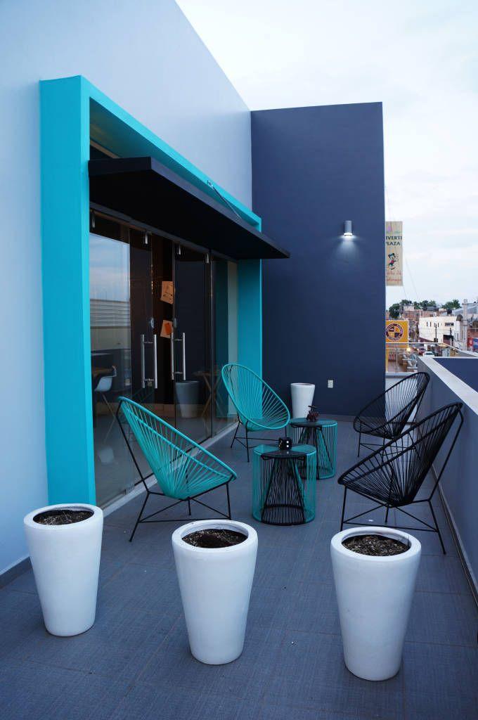 Terraza Oficinas Tik Balcones Y Terrazas Industriales De Cervol Industrial Homify Frases De Arquitectura Fachadas De Oficinas Arquitectura