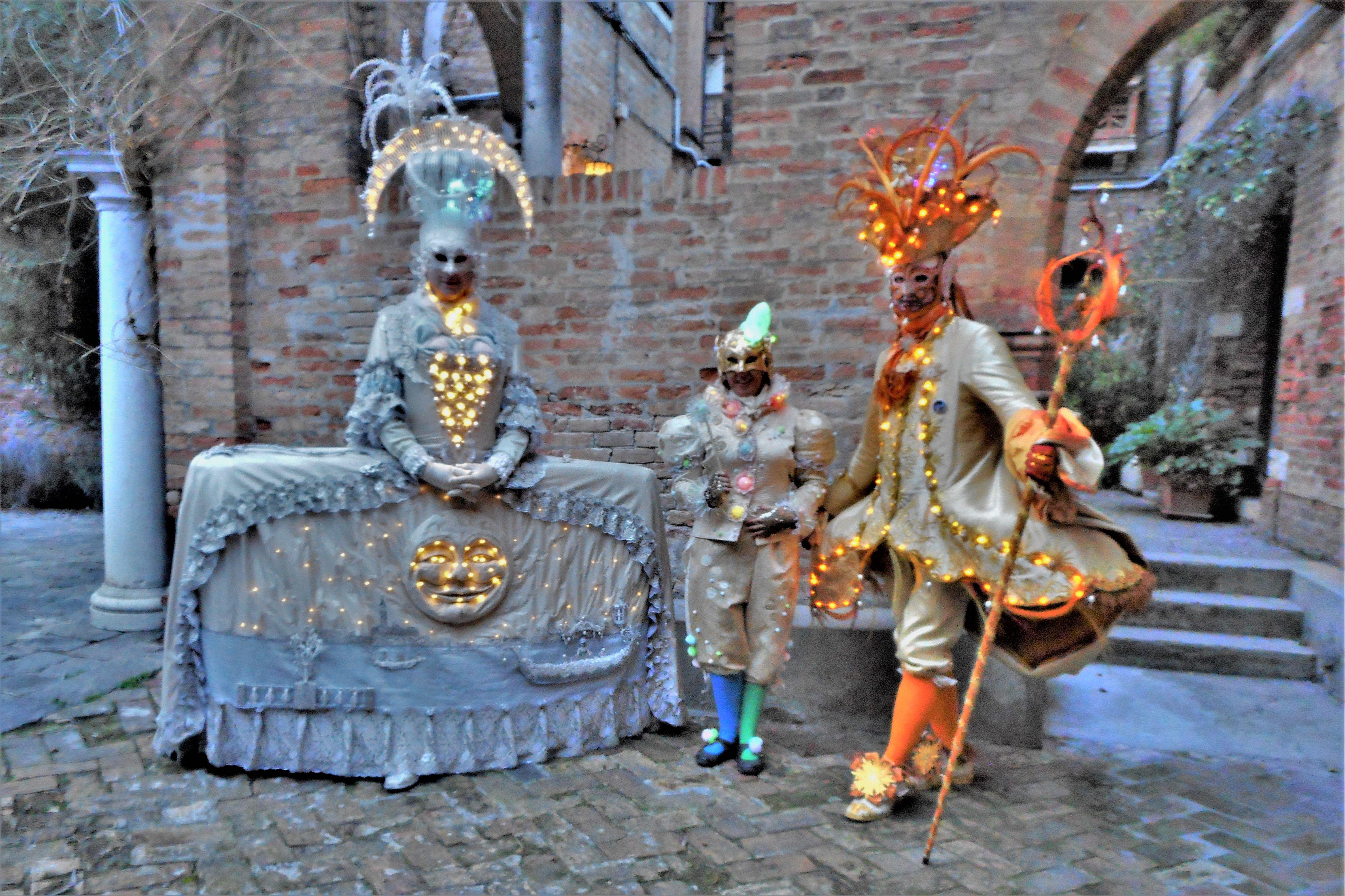 I bambini della luce, the children of light- Carnevale di Venezia
