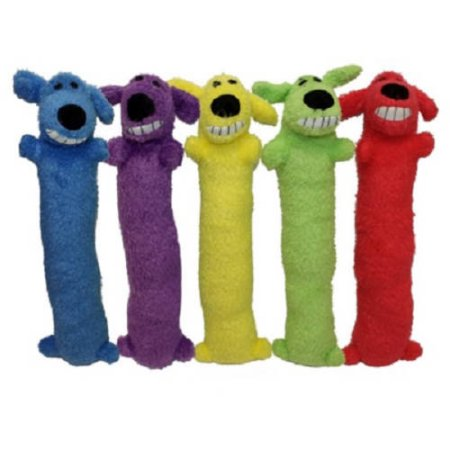 Multipet Loofa Dog Mini 6 Inches Assorted Colors Size 6 Inch
