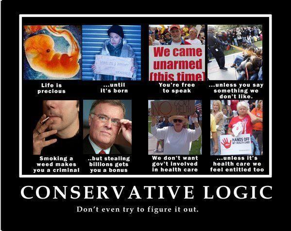 conservative logic - Google Search | Startling Stupidity ...