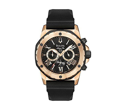 Now in stock Bulova Men's Marine Star Strap Watch