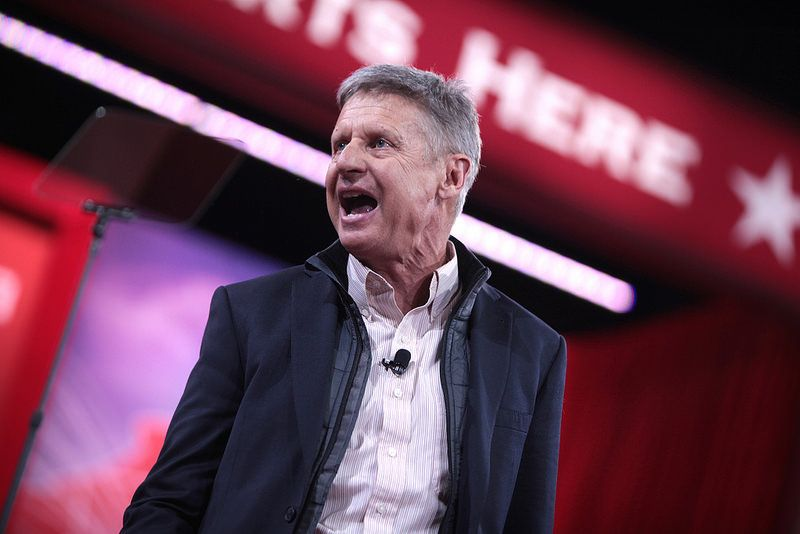 Libertarian Gary Johnson Clarifies Foreign Policy Stances