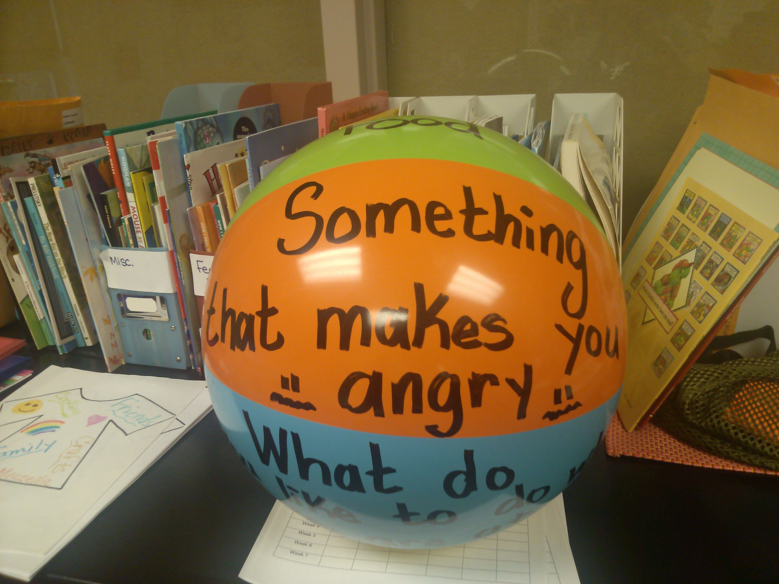 Instead Of Buying An Expensive Counseling Ball Make Your