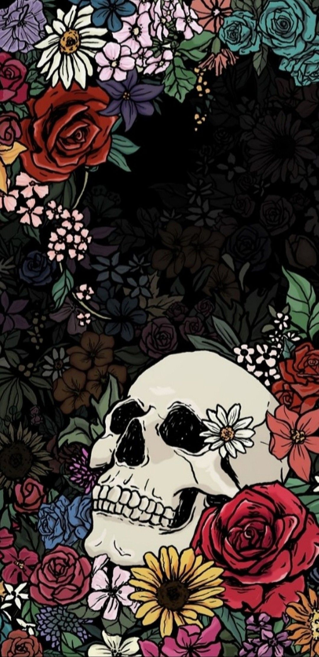 Wallpaper Skull Wallpaper Art Wallpaper Skull Art
