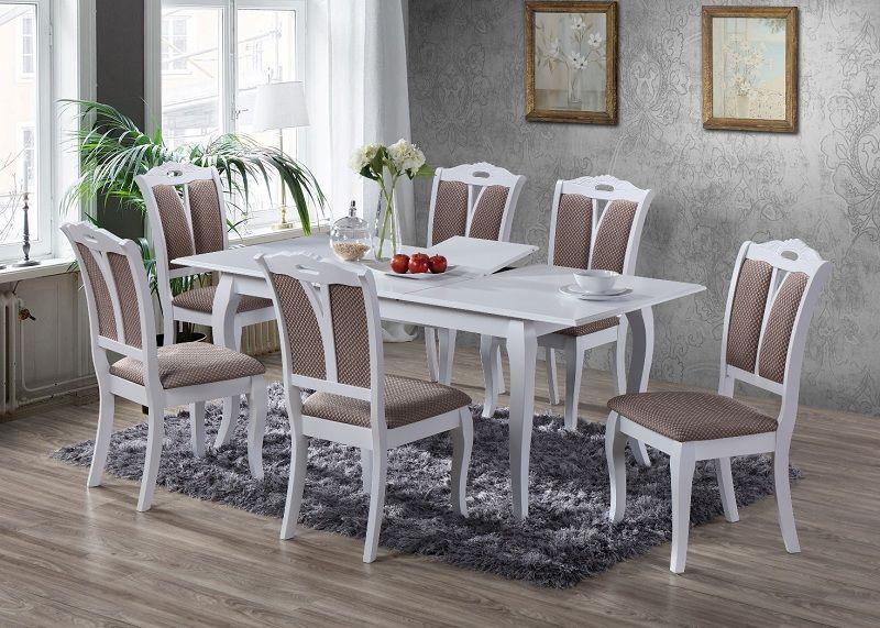 комплект стол калипсо и стулья мира деревянная мебель для кухни
