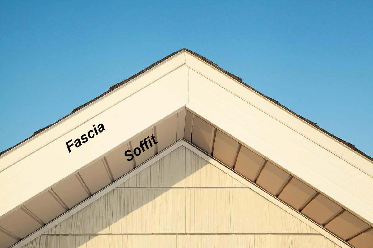Why Soffits And Fascia Are Important Byhyu139 Build Your House Yourself University Byhyu In 2020 Vinyl Soffit Build Your House Fascia