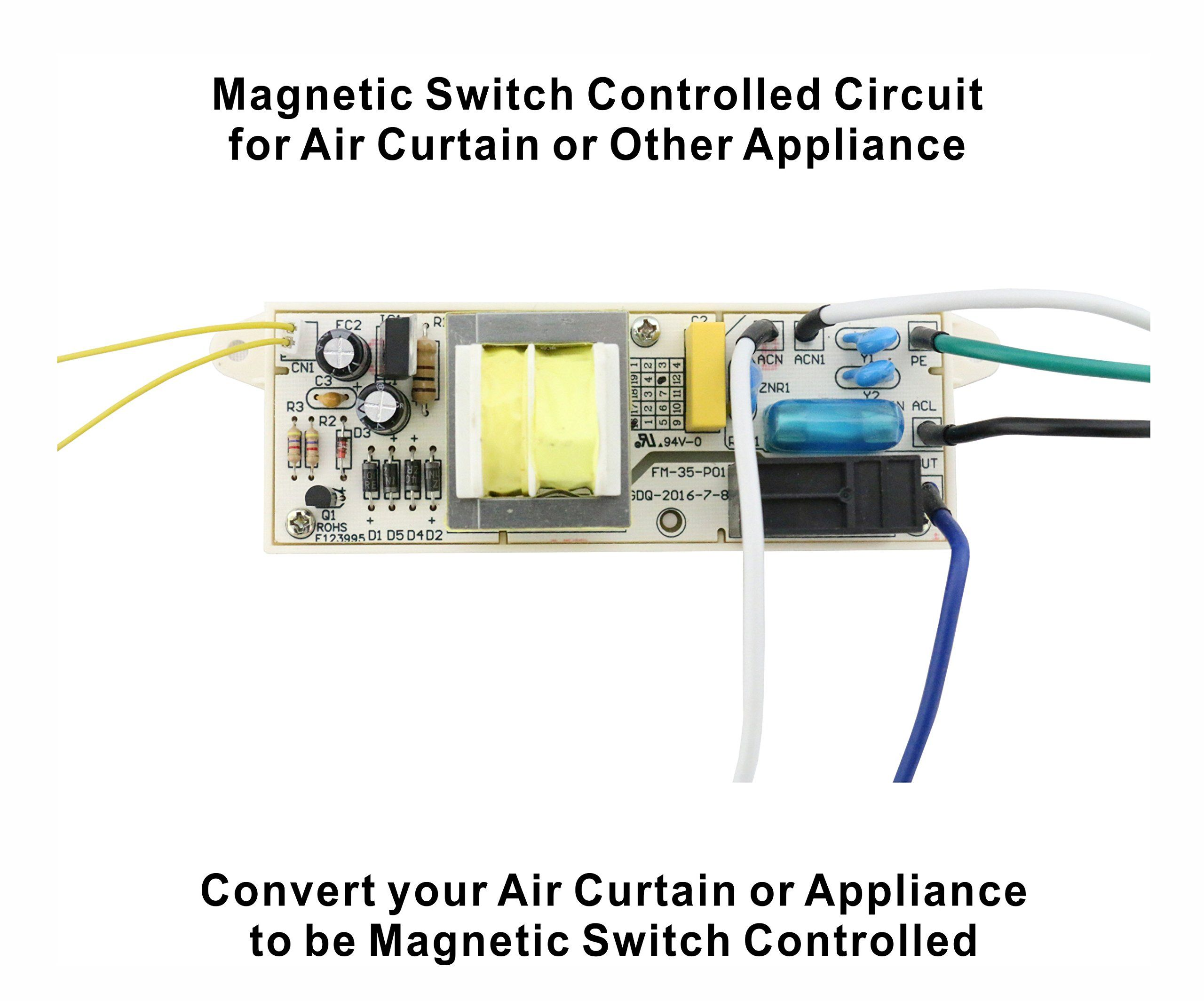 Awoco Switch Controlled Circuit 120V 15A for Air