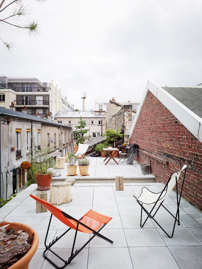 A great use of an outside space! Perfect for a city. #home
