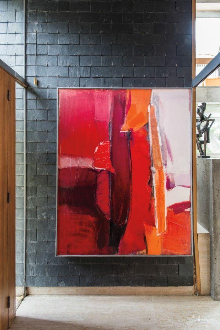 1001 Ideen Zum Thema Welche Farbe Passt Zu Rot Farbe Ideen Passt Rot Secrets Thema Welche Zu Zum Abstrakte Malerei Acryl Abstrakt Abstrakt