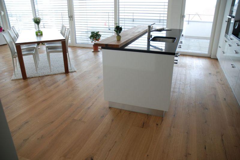 Bildergebnis für küche holzboden Wohnen Pinterest Searching - küche eiche rustikal
