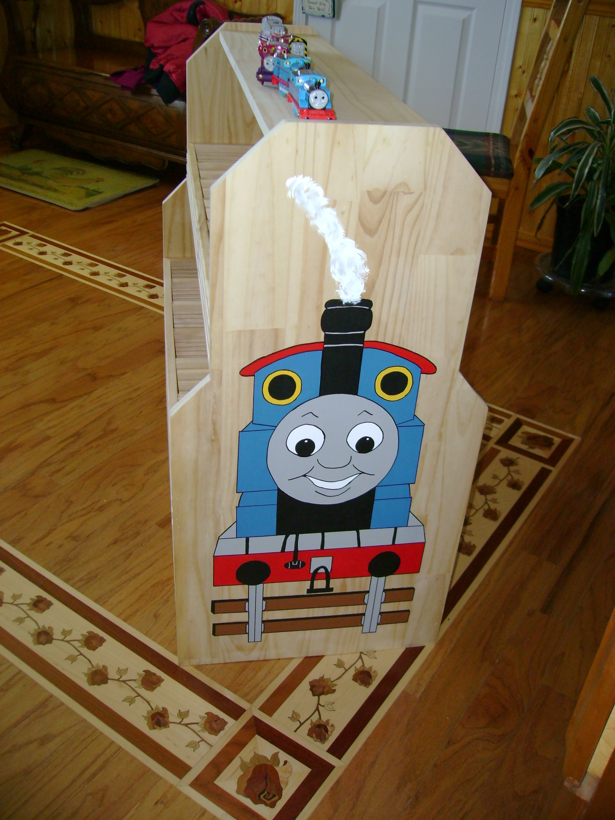 Thomas The Train Shelves Bob Made Amp I Painted For Quin