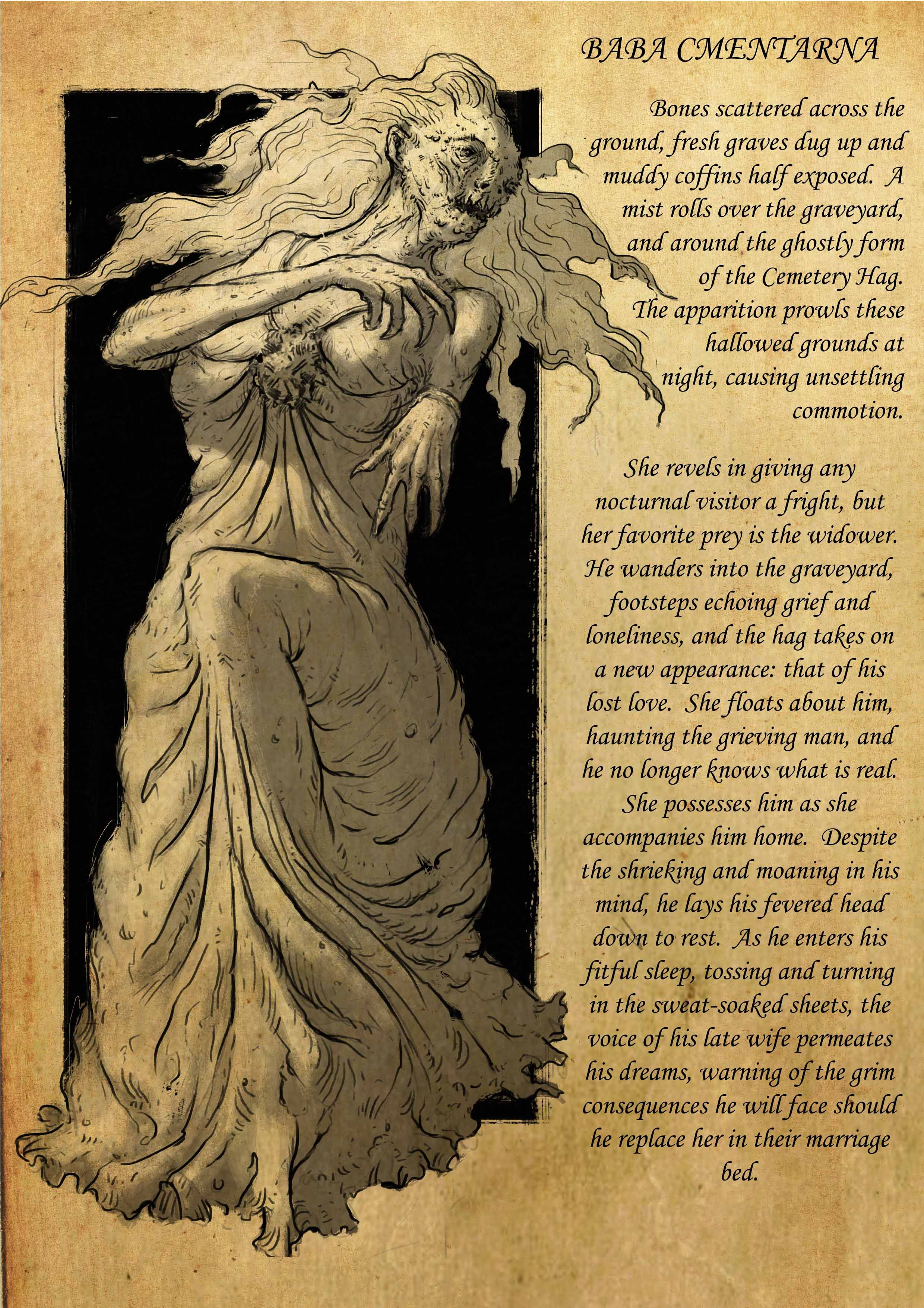 striga strzyga beast slavic slavic mythology slavic folklore