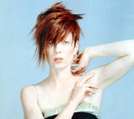 Shirley Manson Short Hairstyle Short Hair Styles Shirley Manson Hair Styles
