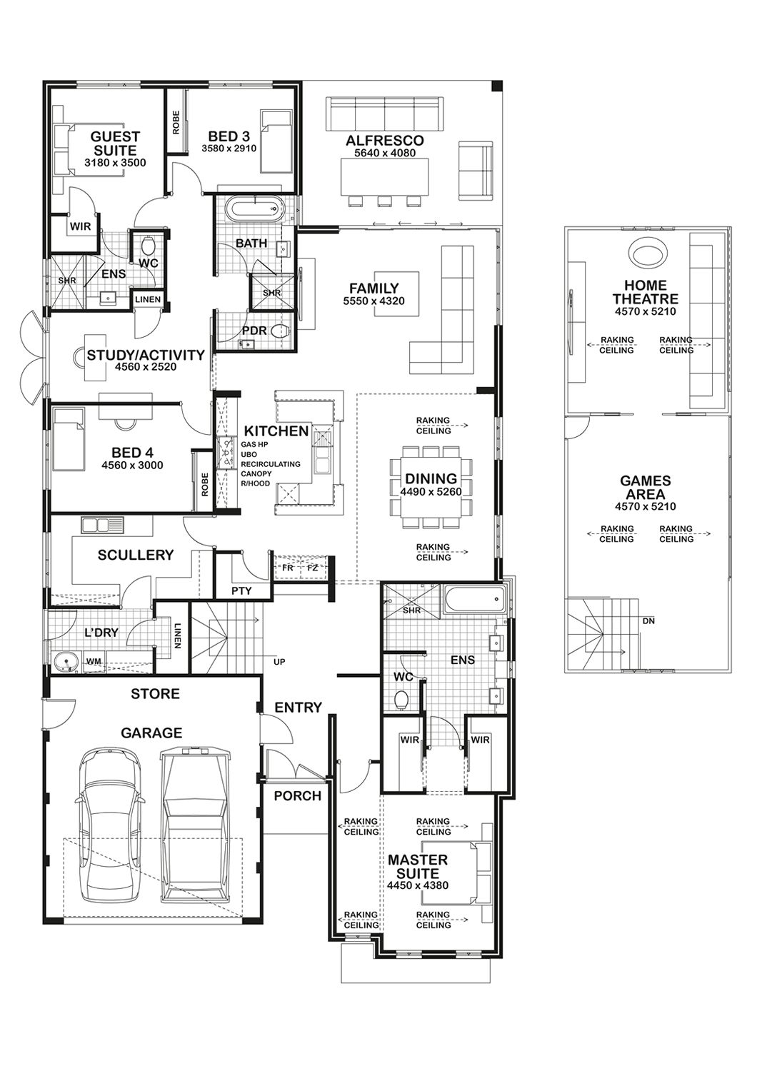Gemmill Abrolhos Amazing Kitchen Scullery Floor Plans Pardee Homes How To Plan
