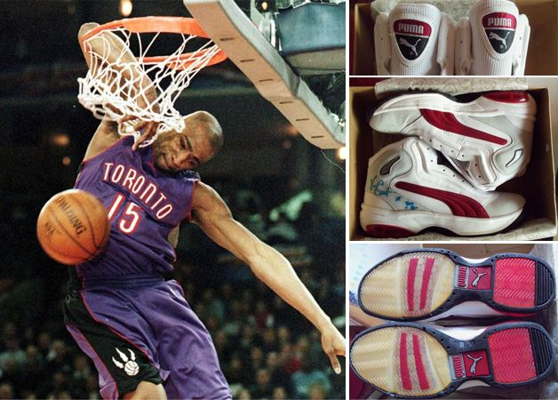 Vince Carter - Rookie of the Year - Puma Vinsanity Home Team 8831fd0e4