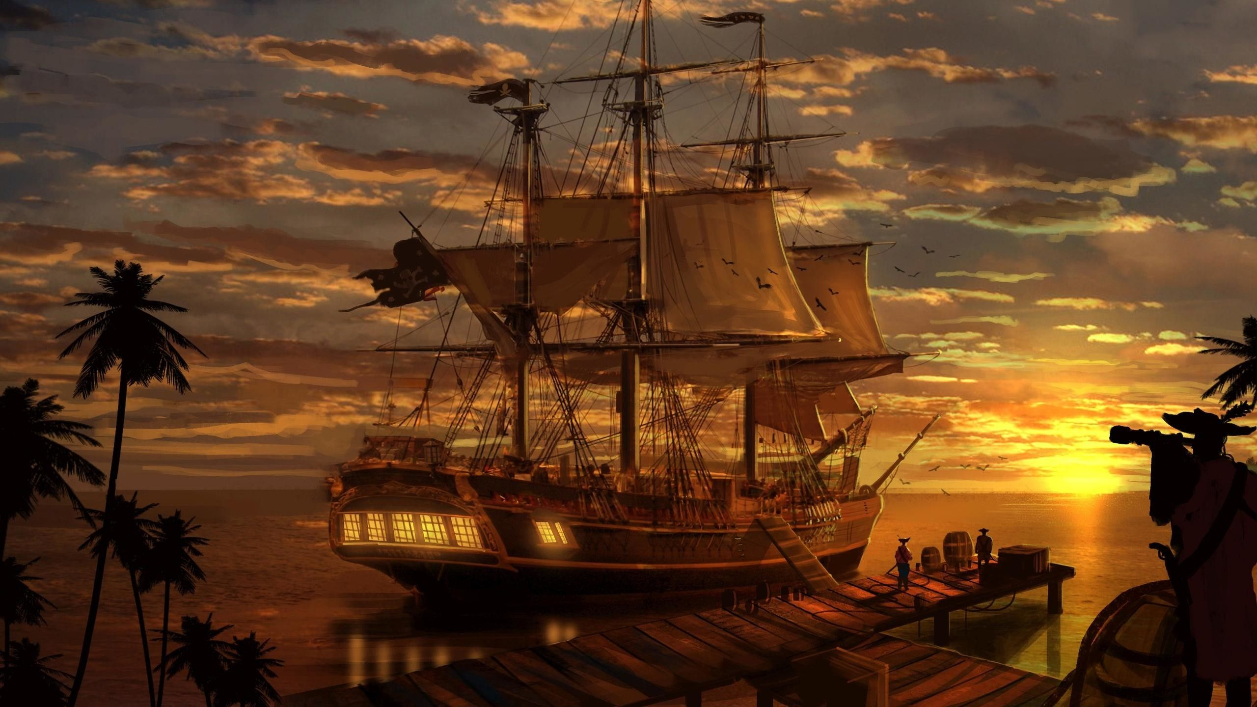 pirate ship wallpaper hd resolution on wallpaper 1080p hd