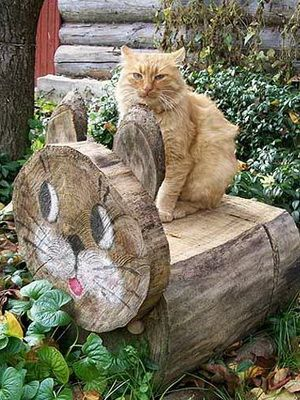 Ландшафтный дизайн деревянного дома: интересные идеи для сада из дерева