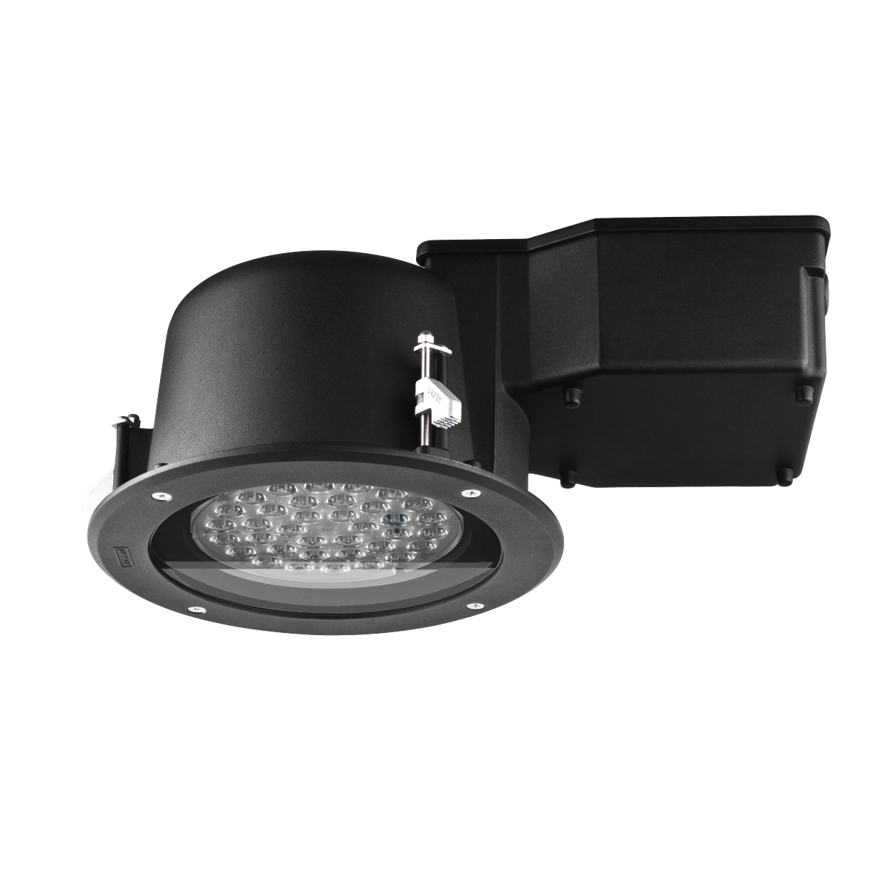 """Ole Recessed LED •9.65"""" Diameter • Stainless Steel or Aluminum • W27 - W30 - W40 • 3 Beam Spreads • Up to 2814 Lumens"""