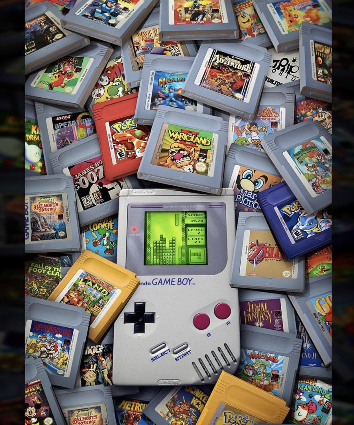 We need a game boy classic Gameboy games, Retro gaming