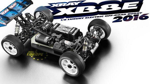 Xray 2016 Xb8e 1 8 4wd Electric Buggy Kit Radio Control Cars Trucks Radio Controlled Cars New Trucks
