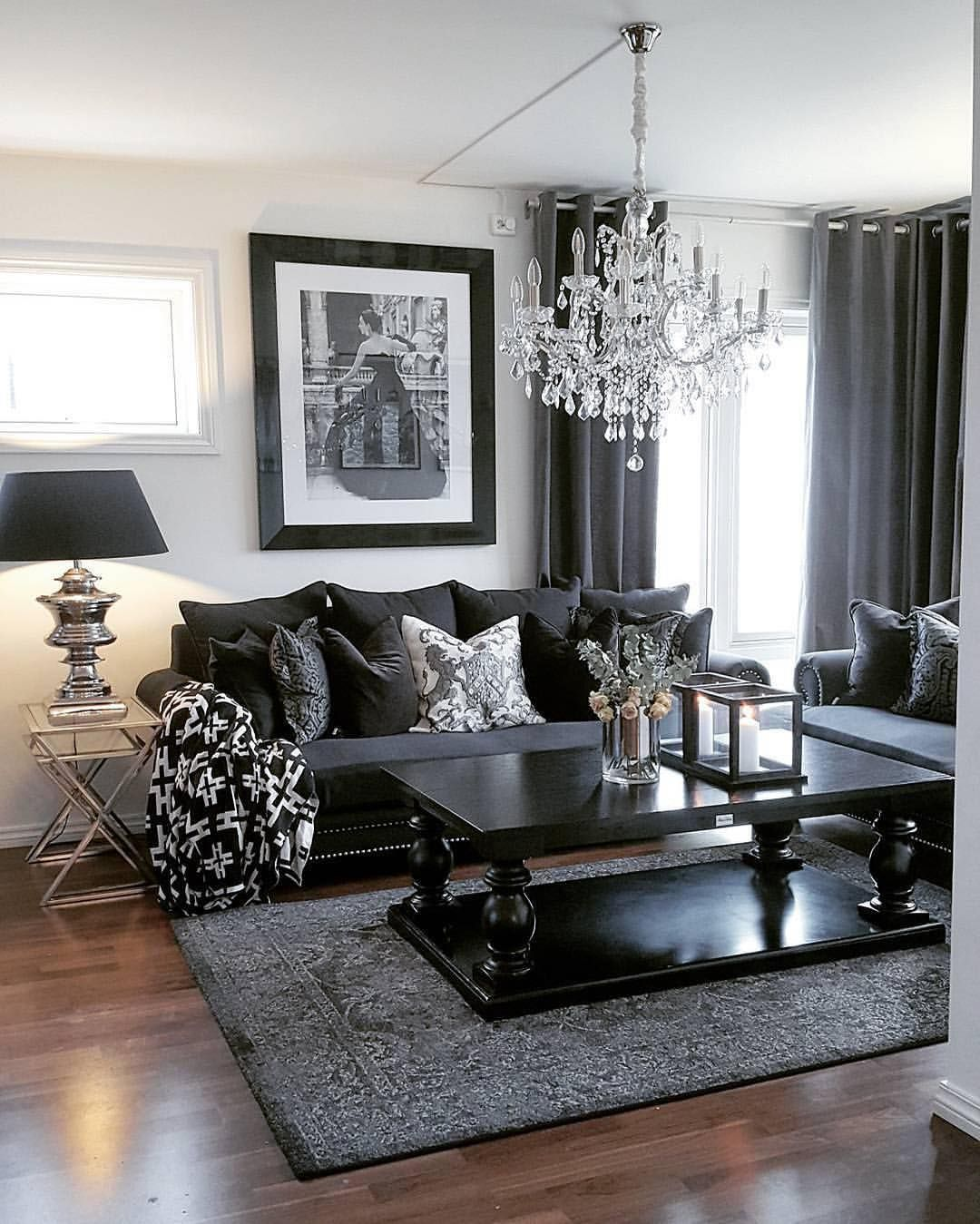 Grey Glam Living Room Ideas: LIKE WHAT YOU SEE? FOLLOW FOR MORE @ Mya Martinez
