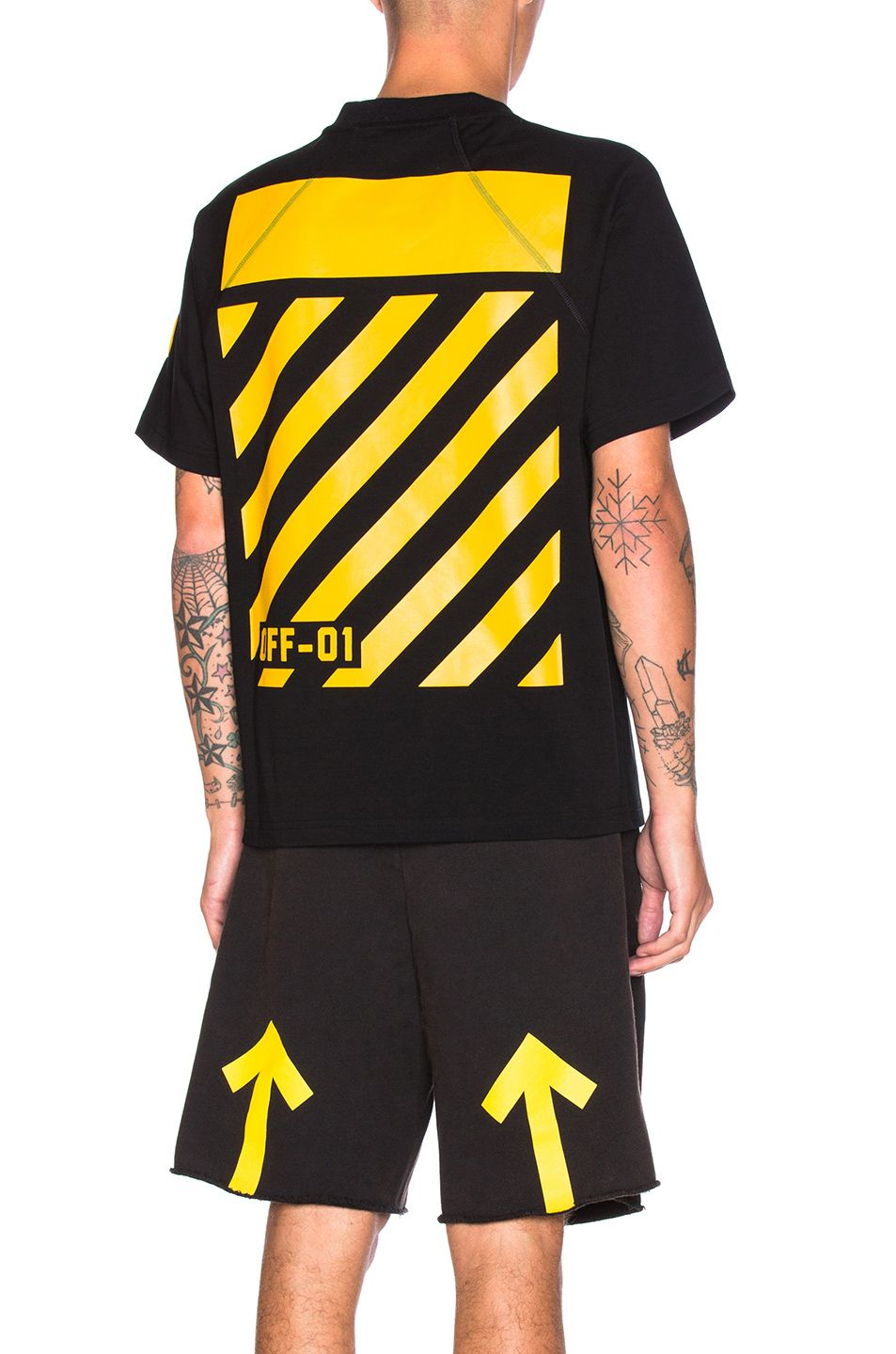 79094c505 Moncler x Off White Maglia Tee in Black | details in 2019 | Off ...