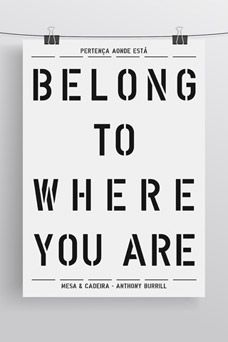 Posters by Anthony Burrill